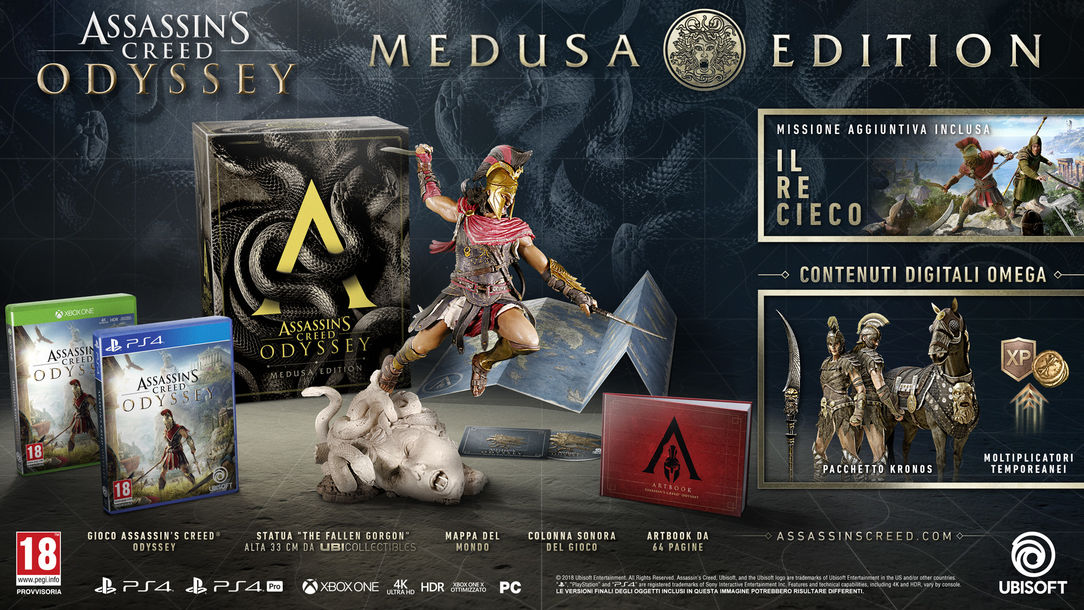 ASSASSIN'S CREED® ODYSSEY – MEDUSA EDITION