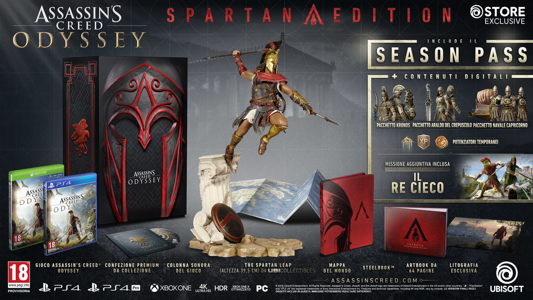 ASSASSIN'S CREED® ODYSSEY – SPARTAN EDITION