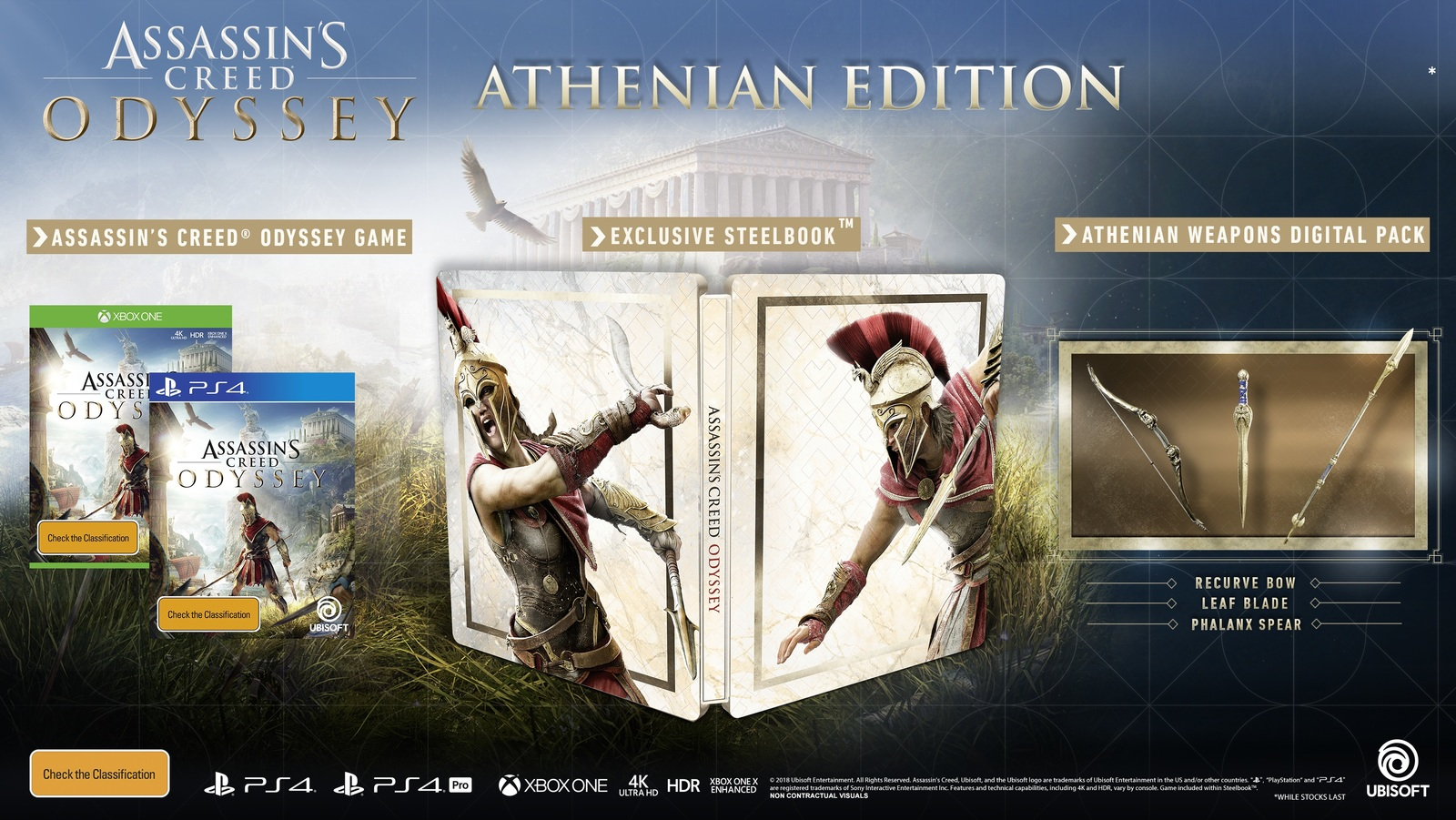 Assassin's Creed Odyssey Athenian Edition