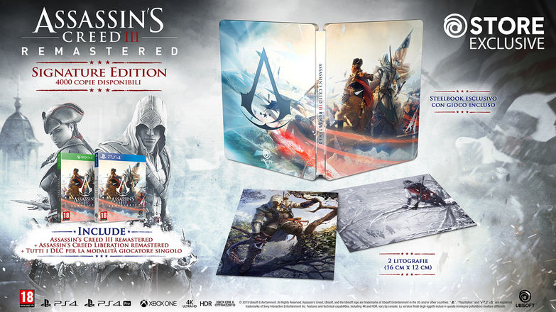 Assassin's Creed III Remastered Signature Edition