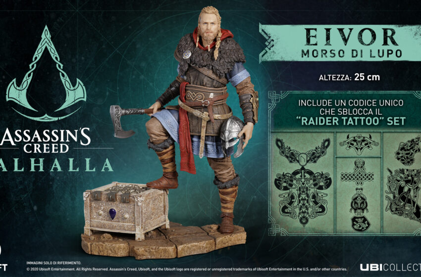 Assassin's Creed Valhalla Eivor Morso di lupo