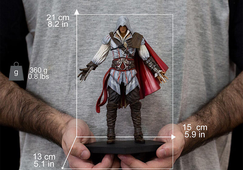 IRON STUDIOS Ezio Auditore Assassins Creed Il – standard