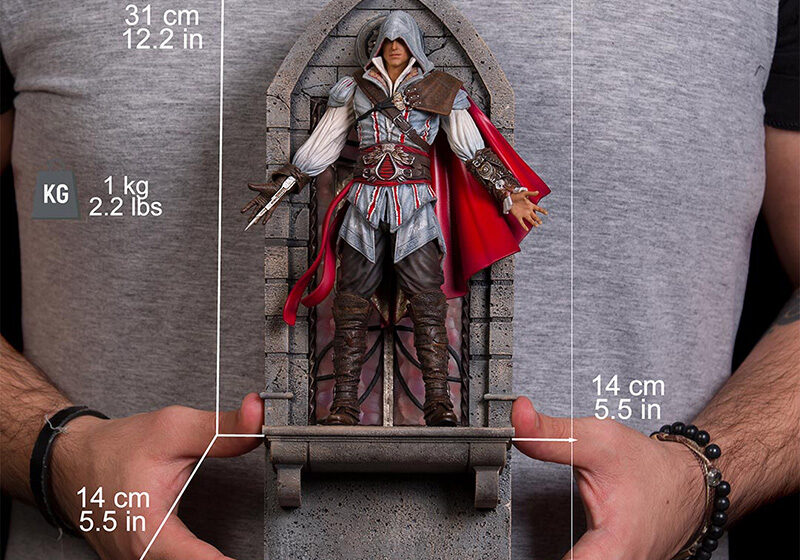 IRON STUDIOS Ezio Auditore Assassins Creed Il – deluxe