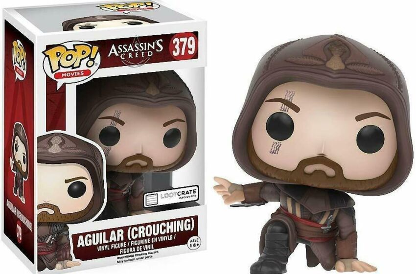 Crouching Aguilar FunkoPOP 379